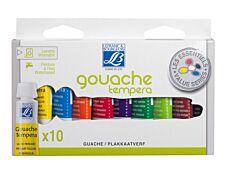 Lefranc & Bourgeois - étui de 10 tubes de peinture - 10 ml