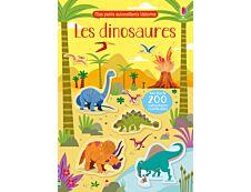Les dinosaures - mes petits autocollants