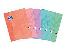 Oxford Touch - Cahier 24 x 32 cm - 96 pages - grands carreaux (Seyes) - disponible dans différentes couleurs