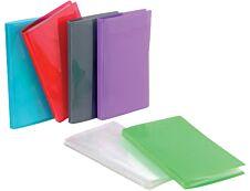 Viquel Propyglass - Porte vues - 100 vues - A4 - disponible dans différentes couleurs