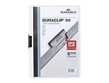 Durable Duraclip 60 - 5 Chemises à clip - A4 - blanc