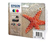 Epson 603XL Etoile de mer - pack de 4 - noir, cyan, magenta, jaune - cartouche d'encre originale