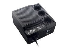 INFOSEC Zenergy EX 400 - Onduleur 3 prises - 400 VA