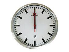 UNILUX Station - horloge - 35 cm - gris métal