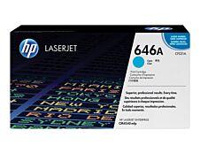 HP 646A - cyan - cartouche laser d'origine