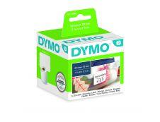 Dymo LabelWriter MultiPurpose  - Ruban d'étiquettes auto-adhésives - 1 rouleau de 320 étiquettes (54 x 70 mm) - fond blanc écriture noire