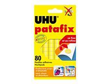 UHU Patafix - 80 pastilles adhésives - jaune - non permanent