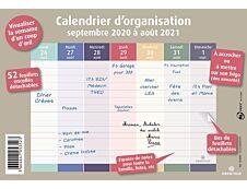 Planning hebdomadaire Bien s'organiser - 23 x 18 cm - Oberthur