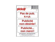 Pickup - Pictogramme - Publicité interdite