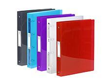 Viquel Propyglass - Classeur à anneaux - Dos 40 mm - A4 Maxi - pour 225 feuilles - disponible dans différentes couleurs