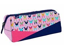 Trousse triangulaire Butterflly - 1 compartiment - Quo Vadis