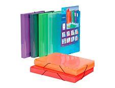 Viquel Propyglass - Boîte de classement personnalisable - dos 30 mm - disponible dans différentes couleurs
