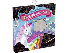 Pochette d'activités - licornes