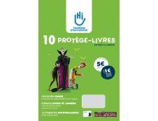 KIT PLIO Handicap International - Feuilles couvre livre - 10 feuilles prédécoupées