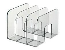 Durable Trend - Porte catalogues 3 compartiments - transparent
