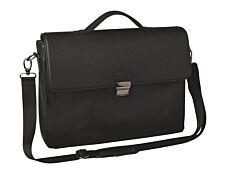 """Oberthur Oregon - Cartable rigide 2 compartiments - pour ordinateur portable 15,6"""" - noir"""