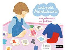 Mes vêtements en feutrine Montessori