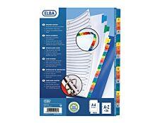 ELBA StrongLine - Intercalaire 26 positions A à Z - A4 Maxi - carte blanche