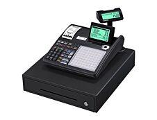 Casio SE-C3500 - Caisse enregistreuse - 7000 PLU - Tiroir : 8 pièces et 4 billets - noir - certifié loi fiscale 2018
