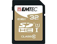 Emtec Elite Gold - carte mémoire 32 Go - Class 10 - SDHC UHS-I U1