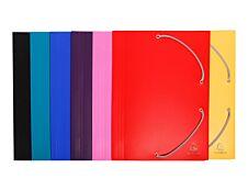 Exacompta - Chemise polypro à rabats - A4 - pour 150 feuilles - disponible dans différentes couleurs opaques