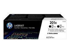 HP 201X - pack de 2 - noir - cartouche laser d'origine