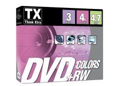 TX - 3 DVD+RW avec boîtiers - 4.7 Go