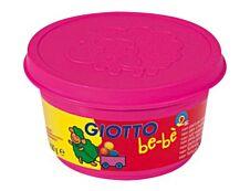 GIOTTO be-bè - pâte à modeler - 4pots Jaune, Rose, Rouge, Vert - 100gr