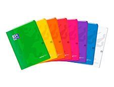 Oxford Easy Book - Cahier polypro 24 x 32 cm - 96 pages - grands carreaux (Seyes) - disponible dans différentes couleurs