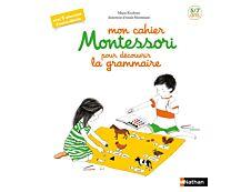Mon cahier Montessori pour découvrir la grammaire