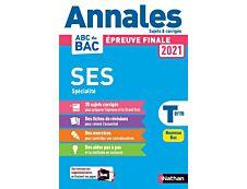 Annales Bac 2021 - Sciences Economiques et Sociales Terminale - Corrigé