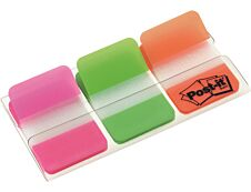 Post-it - Marque-pages (Index) rigides - couleurs vives