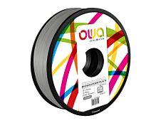 OWA - filament 3D PLA-S - gris - Ø 1,75 mm - 750g