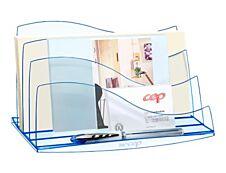 CEP Ice Blue - Trieur à enveloppes bleu transparent