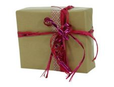 Clairefontaine - Papier cadeau kraft - 70 cm x 3 m - 60 g/m² - brun