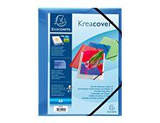 Exacompta KreaCover - Chemise personnalisable à rabats - A4 - disponible dans différentes couleurs