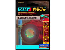 Tesa - Joint de silicone - Extra Power Extreme Repair - 19 mm x  2,5 m - transparent