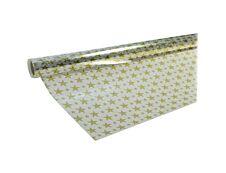 Maildor - Papier cadeau - 70 cm x 50 m - motif étoiles dorées