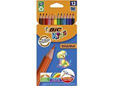 BIC Kids ecolutions Evolution - 12 Crayons de couleur