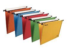 Esselte VisioPlus - 10 Dossiers suspendus pour tiroirs - coloris assortis - fond V