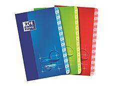 Oxford Infinium - Répertoire 11 x 17 cm - 96 pages - petits carreaux (5x5 mm) - disponible dans différentes couleurs