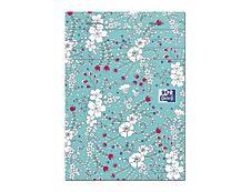 Oxford Floral - Bloc notes agrafé 10,5 x 14,8 cm