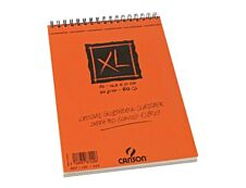 Canson XL - Bloc dessin croquis - 60 feuilles - A5 - 90 gr - blanc