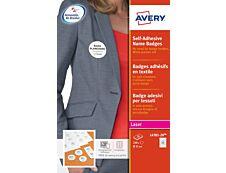 Avery - 240 badges adhésifs ronds pour étiquettes laser - diamètre 51 mm
