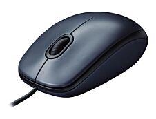 Logitech M100 - souris filaire - noire