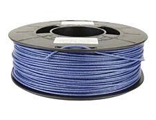 Dagoma Chromatik - filament 3D PLA - bleu pailletté - Ø 1,75 mm - 750g
