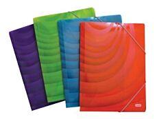 Graphyk - Chemise polypro à rabats - A4 - disponible dans différentes couleurs