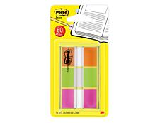 Post-it - Marque-pages (Index) souples - Lot 3 x 20 feuilles