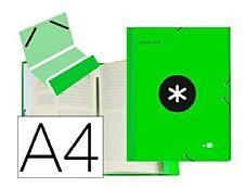 Antartik - Trieur 12 positions - A4 - vert fluo