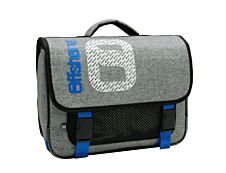 Offshore - Cartable 39,5 cm - 2 compartiments - gris et bleu - Bagtrotter
